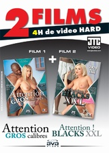2 films : Att... gros calibres + Att... blacks XXL